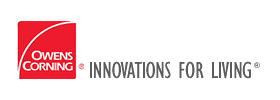 Owens Corning Innovations for Living logo