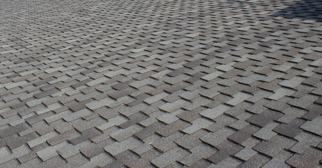 Shingles background above Glendale Roofing
